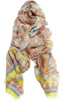Matthew Williamson Printed Modal and Cashmereblend Scarf - Lyst