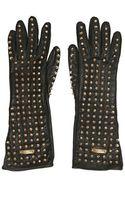 Burberry Prorsum Studded Nappa Gloves - Lyst
