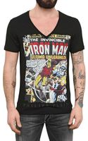 Philipp Plein Swarovski Iron Man Print Jersey Tshirt - Lyst