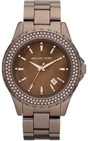 Michael Kors Madison Glitz Watch - Lyst