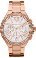 Michael Kors Bella Rose Golden Glitz Watch - Lyst