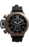 Titanium Oversized Chronograph Watch - Lyst