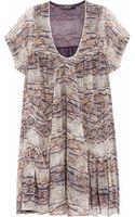 Isabel Marant Nesto Printed Silkgeorgette Dress - Lyst