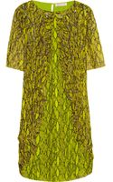 Matthew Williamson Embellished Printed Silk Chiffon Dress - Lyst