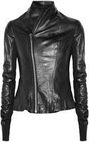Rick Owens Princess Leather Jacket - Lyst