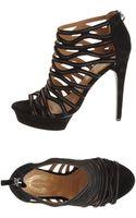 Elie Tahari Platform Sandals - Lyst