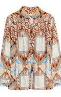 Matthew Williamson Printed Silk Shirt - Lyst