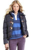 Brooks Brothers Puffer Coat - Lyst
