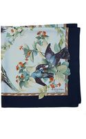 Brooks Brothers Audubon Dove Silk Scarf - Lyst