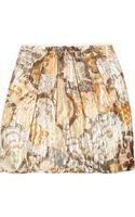See By Chloé Bee Free Brocade Mini Skirt - Lyst