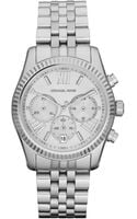 Michael Kors Mid-size Silver Color Stainless Steel Lexington Chronograph Watch No Color - Lyst