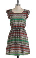 ModCloth Whatever You Mosaic Dress - Lyst
