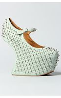 Jeffrey Campbell The Prickly Shoe in Mint Suede - Lyst