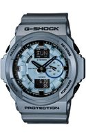 G-shock Analog Digital Blue Resin Strap Watch  - Lyst