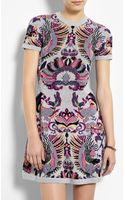 McQ by Alexander McQueen Griffin Jacquard Flirty Knit Dress - Lyst