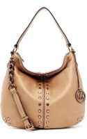 Michael by Michael Kors Uptown Astor Large Shoulder Bag - Lyst