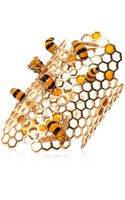 Delfina Delettrez Gold To Bee Or Not Too Bee Cuff - Lyst