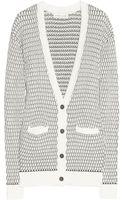 Jonathan Saunders Textured knit Cotton Cardigan - Lyst
