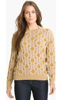 Lafayette 148 New York Cable Knit Sweater - Lyst