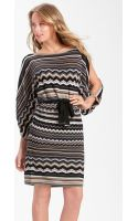 Laundry By Shelli Segal Split Sleeve Blouson Sweater Dress - Lyst