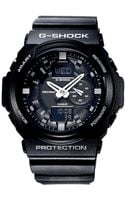G-shock Analog Digital Black Resin Strap Watch  - Lyst