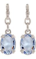 Judith Ripka Quartz Drop Earrings - Lyst