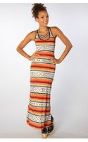 Reverse The Tribal Maxi Dress - Lyst