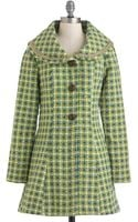 ModCloth Which Way To Galloway Coat - Lyst