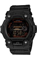 G-shock Digital Army Green Resin Strap Watch  - Lyst