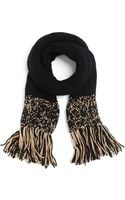 Brooks Brothers Wool Alpaca Scarf - Lyst