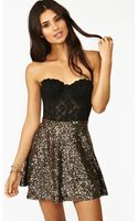 Nasty Gal Underwater Sequin Skirt - Lyst