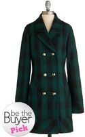 ModCloth Back To Cool Coat - Lyst