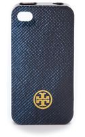 Tory Burch Printed Hard Shell Iphone 4 Case - Lyst