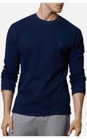 Polo Ralph Lauren Long Sleeve Thermal Crewneck - Lyst