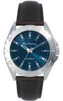 Ben Sherman Blue Dial Leather Strap Watch - Lyst