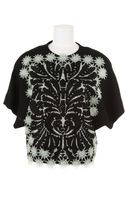 Rodarte Top in Wool and Viscose - Lyst