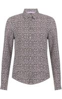 Paul Smith Cotton Shirt - Lyst