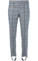 Dondup Checkered Trouser with Stirrups - Lyst