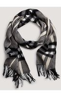 Burberry Giant Check Scarf - Lyst
