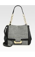 Diane Von Furstenberg Harper Wool Shoulder Bag - Lyst