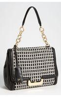 Diane Von Furstenberg New Harper Check Wool Shoulder Bag - Lyst