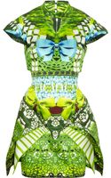 Mary Katrantzou Expandit Printed Silk Satintwill Dress - Lyst