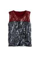 J.Crew Collection Sequin Colorblock Tank - Lyst