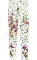 By Malene Birger Regal Floralprint Silk Pants - Lyst
