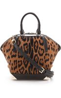 Alexander Wang Emile Small Haircalf Satchel - Lyst