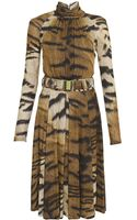 Class Roberto Cavalli Jersey Dress - Lyst