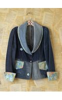 Free People Vintage Denim Jacket - Lyst