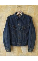 Free People Vintage Lee Denim Jacket - Lyst