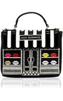 Lulu Guinness Black Ellis Street Shop Small Audrey - Lyst