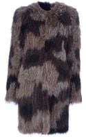 Meteo Fur Coat - Lyst